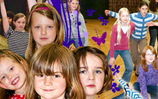 Banner Kindertanzen